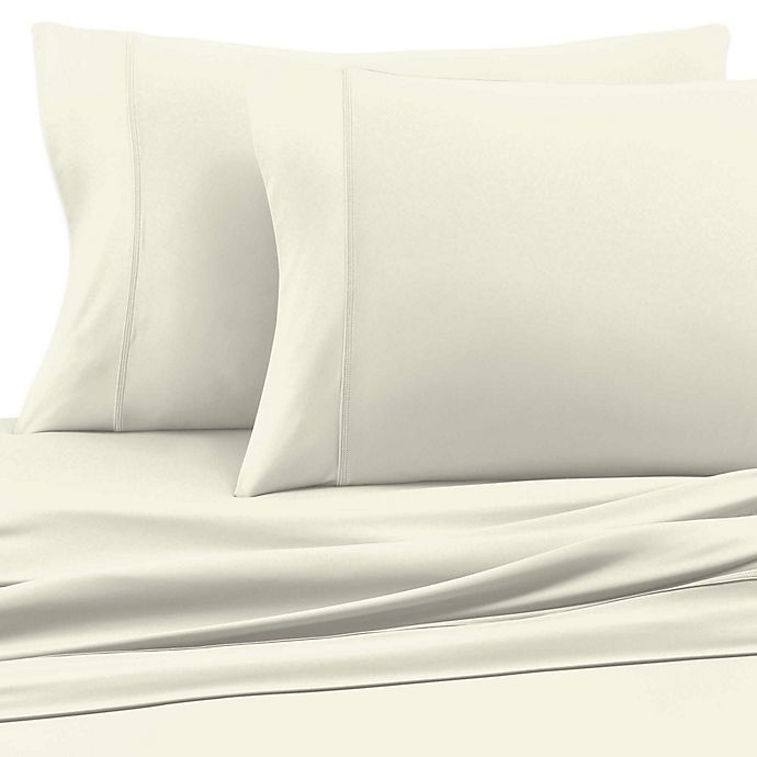 Alternate image 1 for SHEEX® Experience Performance Fabric Standard Pillowcases in Ivory (Set of 2)