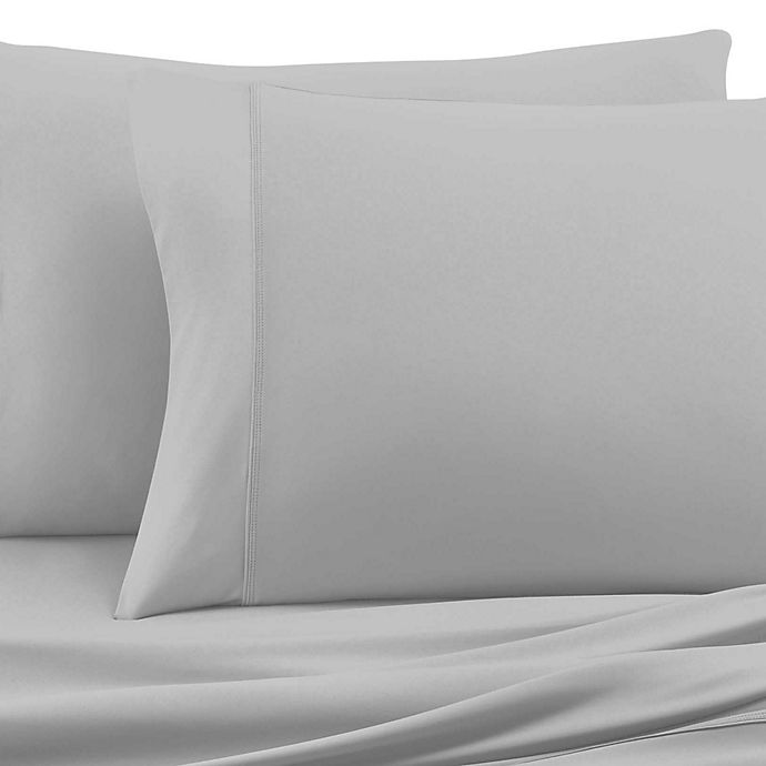 Alternate image 1 for SHEEX® Experience Performance Fabric King Pillowcases in Silver (Set of 2)