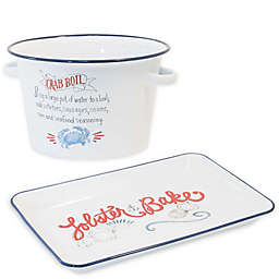 Boston International Crab and Lobster Serveware Collection