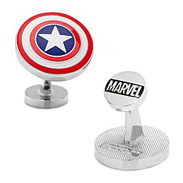 Marvel® Plated Captain America Shield Cufflinks