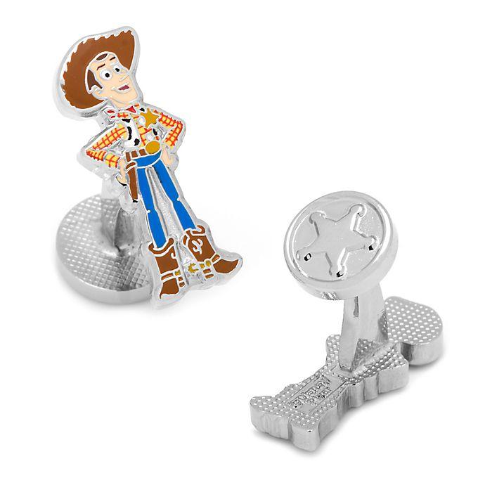 Alternate image 1 for Disney® Plated Woody Cufflinks