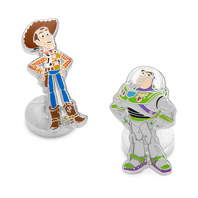 Alternate image 1 for Disney® Plated Buzz Lightyear and Woody Cufflinks