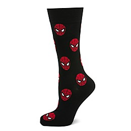 Marvel® Spiderman Repeat Socks in Black