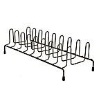 Home Basics® Vertical Plate Rack in Onyx