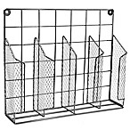 Home Basics® Wire Food Wrap Organizer in Onyx