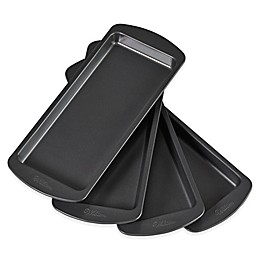 Wilton® Easy Layers! 4-Piece Nonstick 10-Inch x 4-Inch Loaf Cake Pan Set