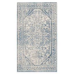 Safavieh Patina Ross 4-Foot x 6-Foot Area Rug in Light Grey/Blue