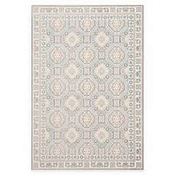 Safavieh Patina Tiles 5-Foot 1-Inch x 7-Foot 6-Inch Area Rug in Ivory/Grey