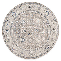 Safavieh Patina Juliet 6-Foot 7-Inch Round Area Rug in Taupe/Ivory