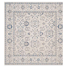 Safavieh Patina Juliet 6-Foot 7-Inch Square Area Rug in Ivory/Grey