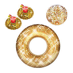 PoolCandy 4-Piece Gold Pool Party Pack
