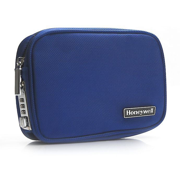Alternate image 1 for Honeywell Black  Locking Security Pouch