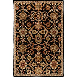 Artistic Weavers Middleton Victoria Area Rug in Black
