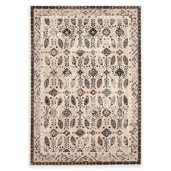 Alternate image 1 for Safavieh Serenity Collection Iris 5-Foot 1-Inch x 7-Foot 6-Inch Area Rug in Cream/Brown