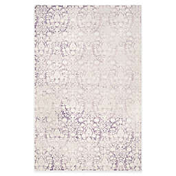 Safavieh Passion Adriana 9-Foot x 12-Foot Area Rug in Ivory/Lavender