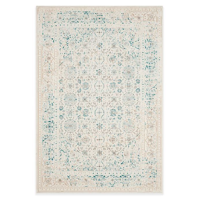 Safavieh Himalaya Turquoise Ivory 4 Ft X 6 Ft Area Rug: Buy Safavieh Passion Helen 4-Foot X 5-Foot 7-Inch Area Rug