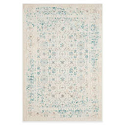 Safavieh Passion Helen 4-Foot x 5-Foot 7-Inch Area Rug in Ivory/Turquoise