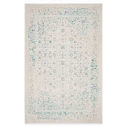 Safavieh Passion Helen 5-Foot 1-Inch x 7-Foot 7-Inch Area Rug in Ivory/Turquoise