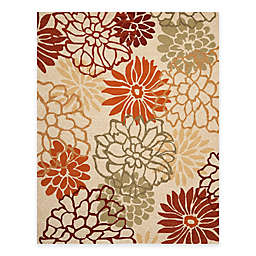 Safavieh Four Seasons Burst Floral Rug in Beige/Multi