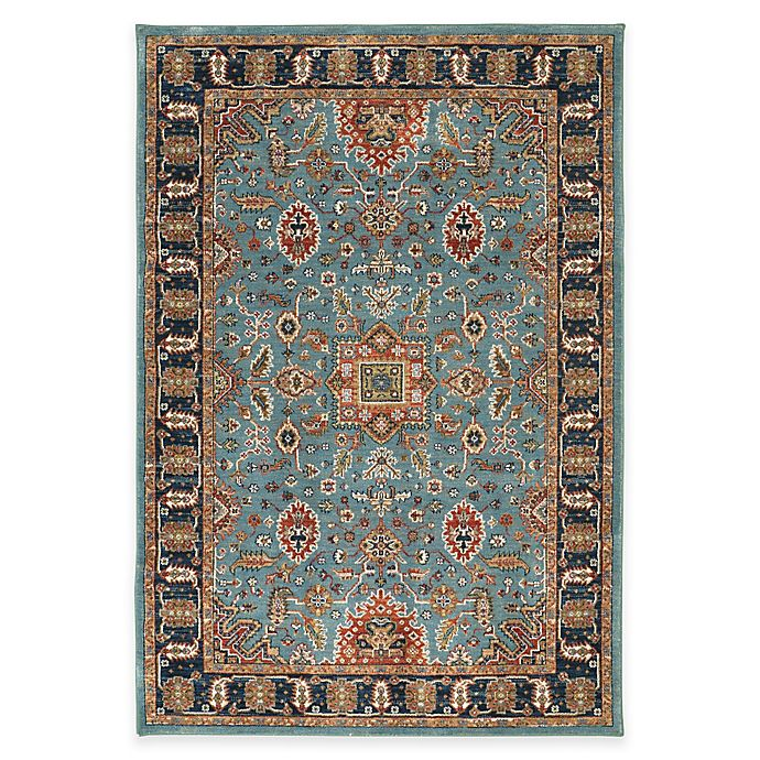Alternate image 1 for Karastan Spice Market Deir Area Rug in Aquamarine