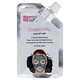 Global Beauty Care 1 oz. Charcoal Wash-Off Face Mask