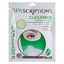 Global Beauty Care™ Cucumber Hydrogel Face Mask