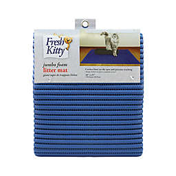 Fresh Kitty™ Jumbo Litter Trapper Mat in Blue