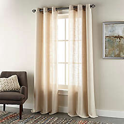 Nanshing® Harriet 2-Pack Grommet Twill Window Curtain Panels