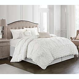 Nanshing® Rhina 7-Piece Queen Comforter Set in White