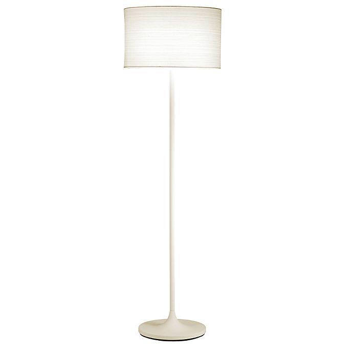 Alternate image 1 for Adesso® Oslo Floor Lamp in White