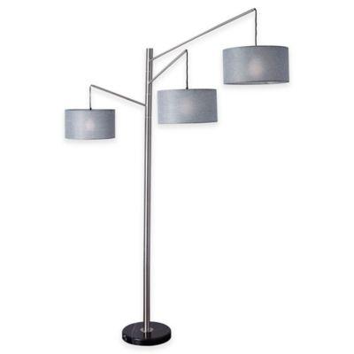 Adesso Wellington Arc Lamp Bed Bath Amp Beyond