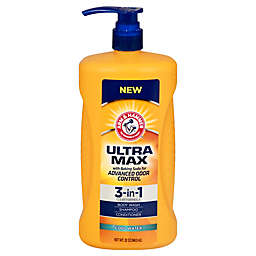 Arm & Hammer 32. oz. 3-in-1 Ultra Max Shampoo, Conditioner, and Body Wash in Cool Water