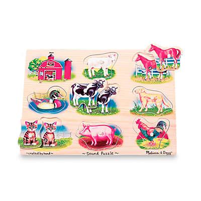 Melissa & Doug® Farm Sound Puzzle