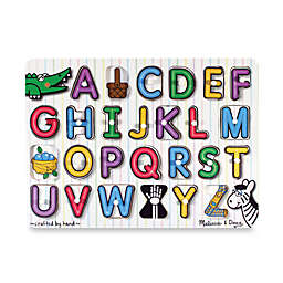 Melissa & Doug® ABC Pegs Puzzle