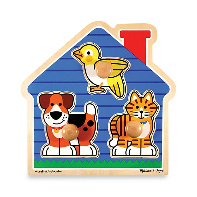 Alternate image 1 for Melissa & Doug® Pets Puzzle