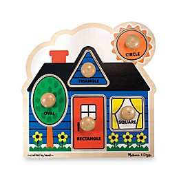 Melissa & Doug® First Shapes Jumbo Knob Puzzle