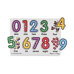 Melissa & Doug® Peg Numbers Puzzle