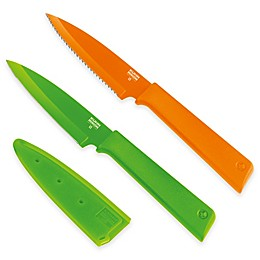 Kuhn Rikon Colori Plus Prep 2-Piece Paring Knife Set
