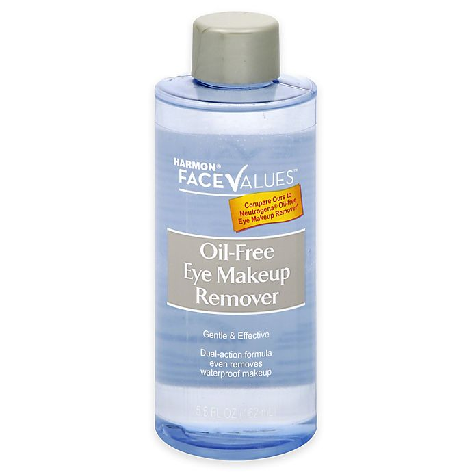 Alternate image 1 for Harmon® Face Values™ 5.5 oz. Oil Free Eye Makeup Remover