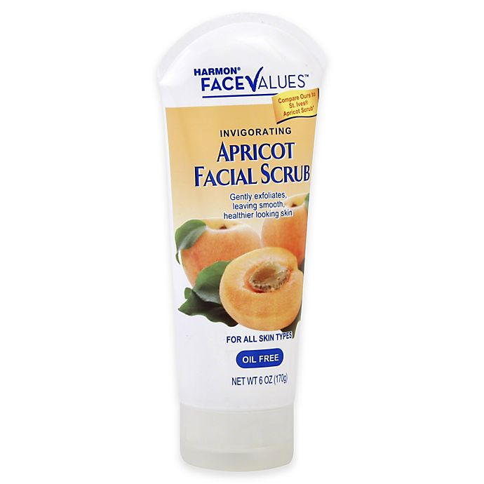 Alternate image 1 for Harmon® Face Values™ 6 oz. Apricot Facial Scrub
