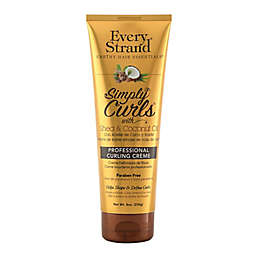 Every Strand 8 oz. Professional Curling Creme with Shea & Coconut Oil