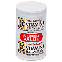 Fruit of the Earth® 2-Count 4 oz. Vitamin E Skin Care Cream