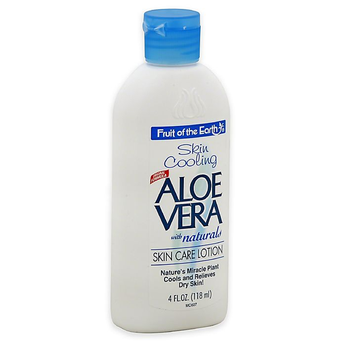 Alternate image 1 for Fruit of the Earth® 4 oz. Aloe Vera Skin Cooling Lotion