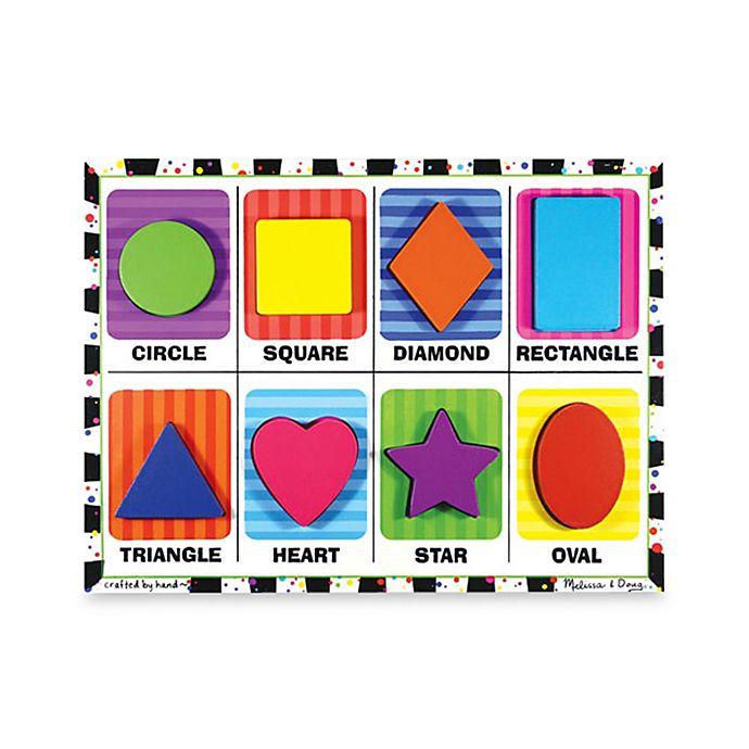 Alternate image 1 for Melissa & Doug® Shapes Chunky Puzzle