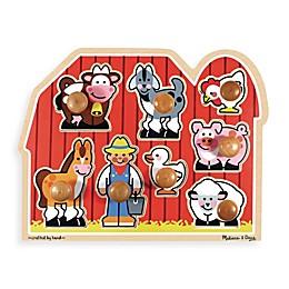 Melissa & Doug® Farm Jumbo Knob Puzzle
