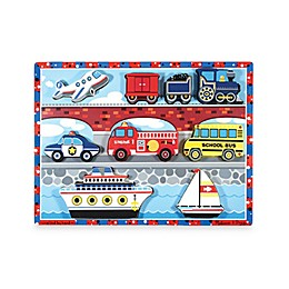 Melissa & Doug® Vehicles Chunky Puzzle