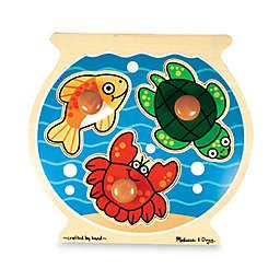 Melissa & Doug® Fish Bowl Knob Puzzle