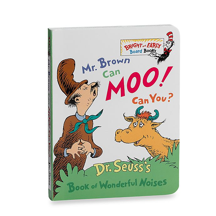 Alternate image 1 for Dr. Seuss' Mr. Brown Can Moo! Can You?