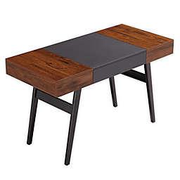 Techni Mobili Expandable Modern Desk in Mahogany