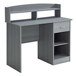 Techni Mobili Modern Office Desk with Hutch